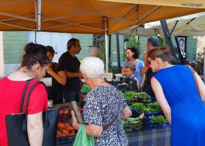 Exploring the local produce in the public markets