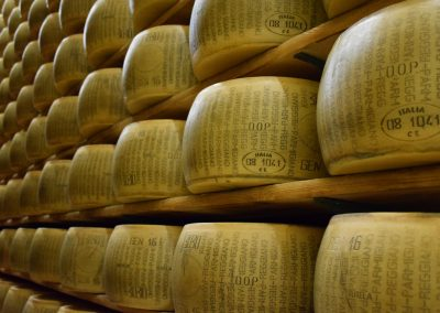 Parmigiano is the Italian adjective for Parma